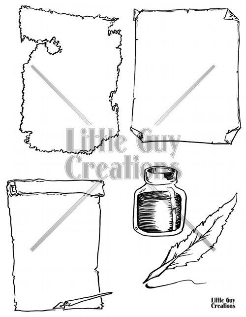 Parchment Vector Pack 1
