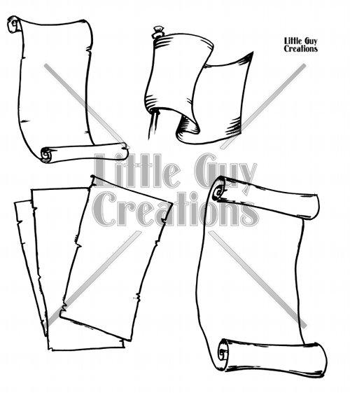 Parchment Vector Pack 2